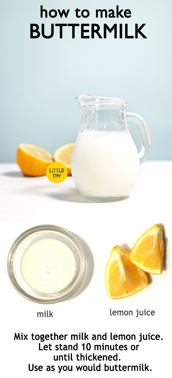Photo of HOW TO MAKE BUTTERMILK