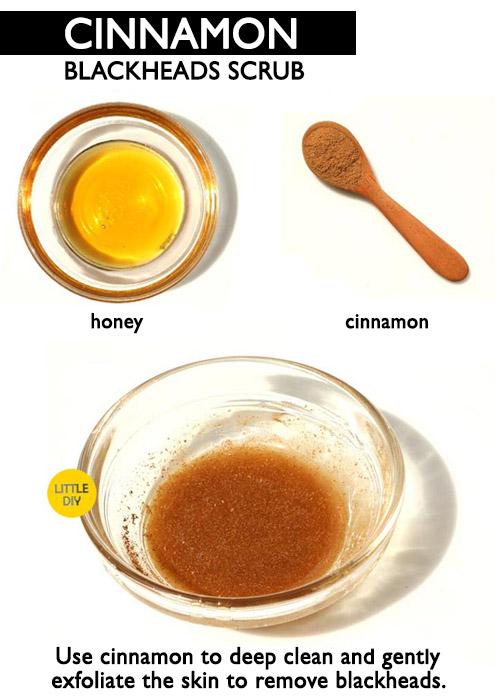 cinnamon blackheads remover