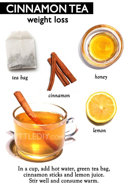 CINNAMON SLIMMING TEA RECIPE -