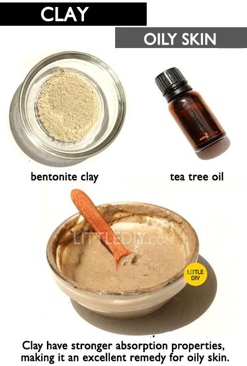 BENTONITE CLAY FOR OILY SKIN -