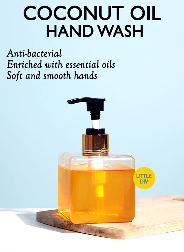NATURAL COCONUT OIL ANTI BACTERIAL HAND WASH