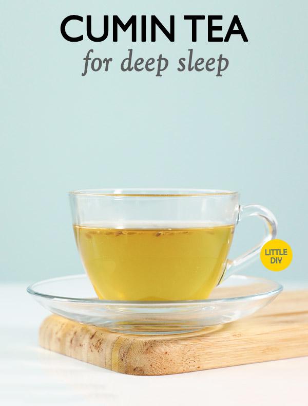 CUMIN TEA FOR A GOOD NIGHT SLEEPv