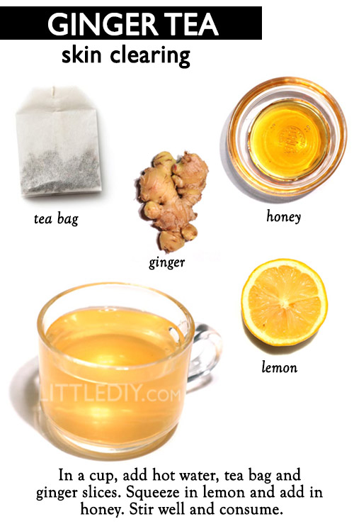 HEALTHY MORNING DRINK- GINGER SKIN CLEARING TEA