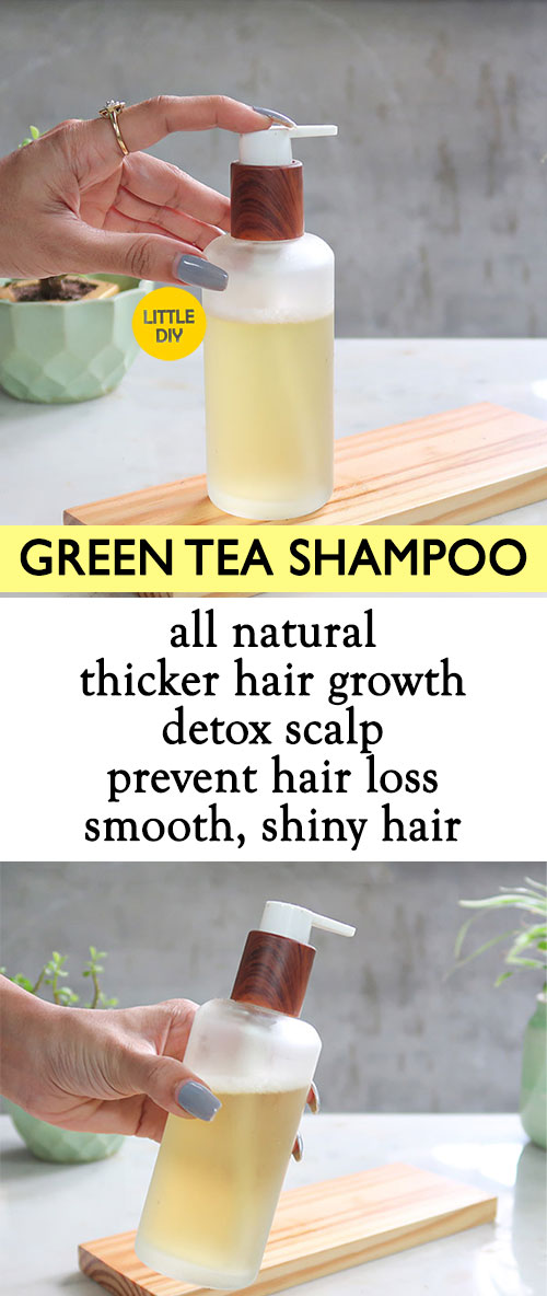 Photo of DIY Green Tea Hair Growth Shampoo