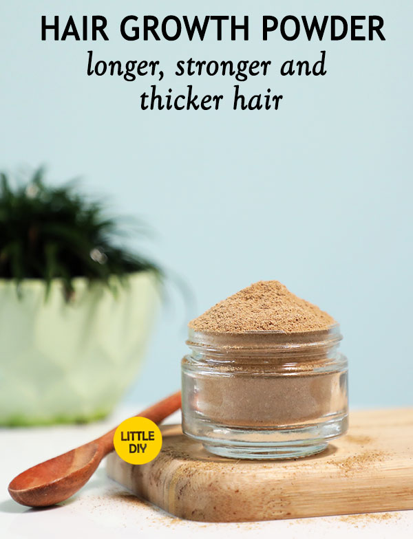HAIR GROWTH POWDER for longer, stronger and thicker hair