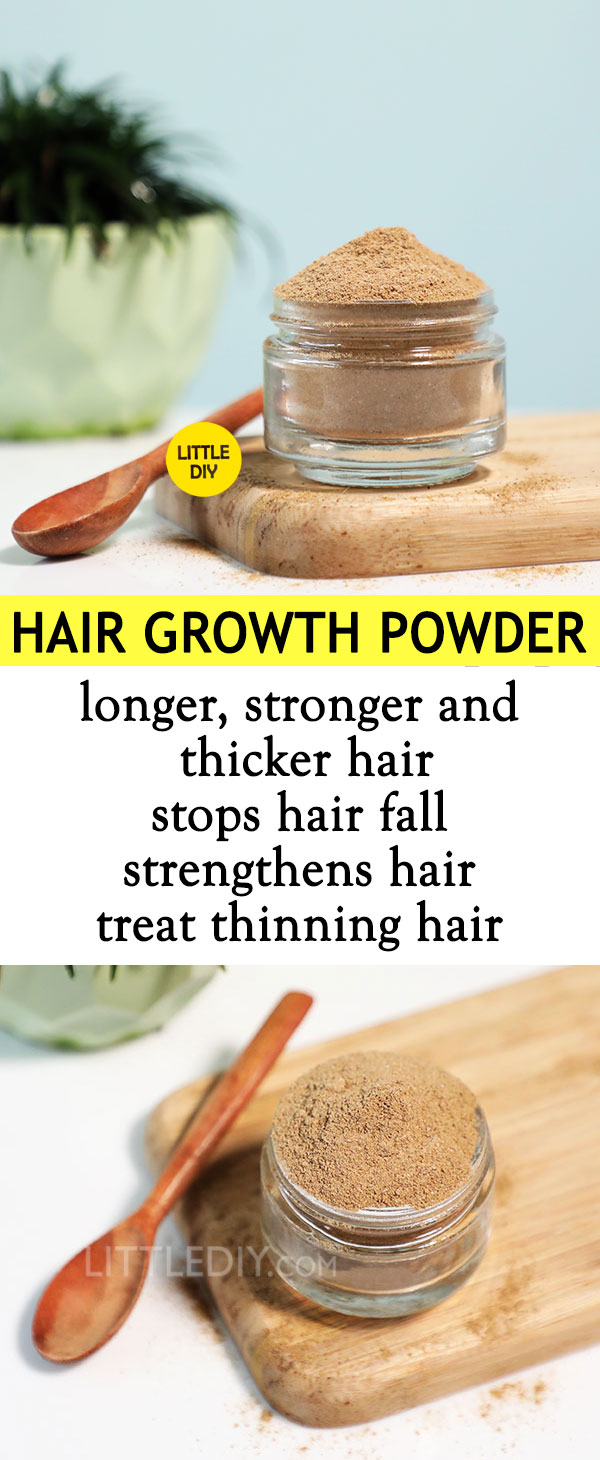 Photo of HAIR GROWTH POWDER for longer, stronger and thicker hair