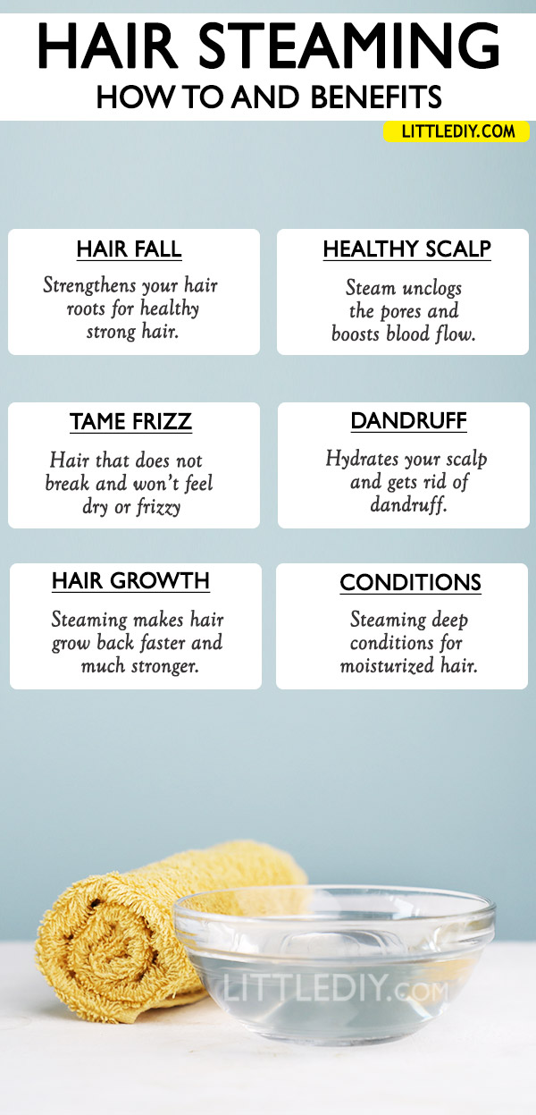 HAIR STEAMING - BENEFITS AND HOW TO