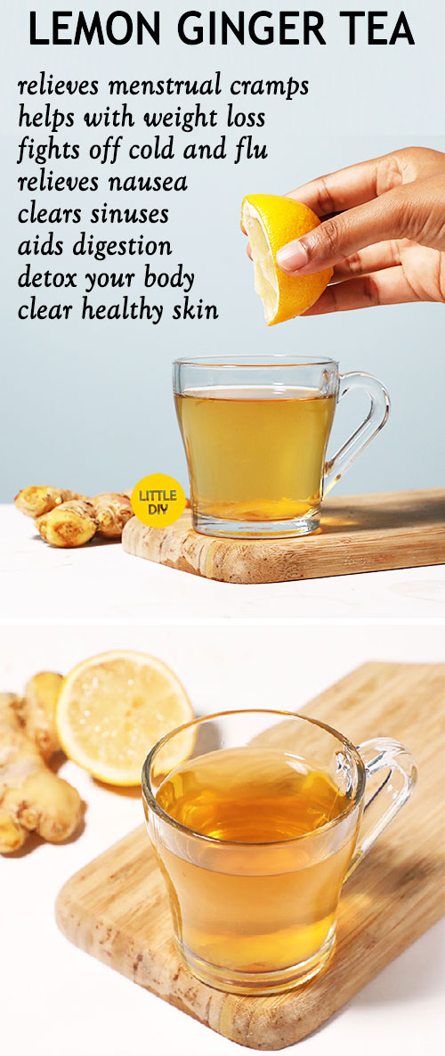 lemon-ginger-tea recipe