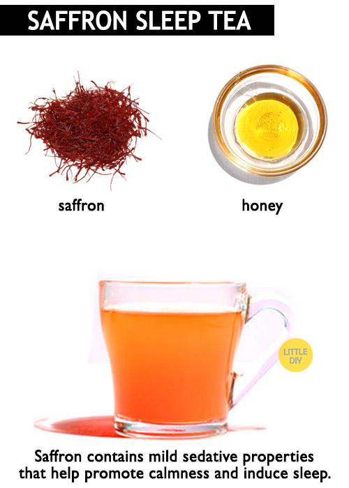 Saffron for sleep -