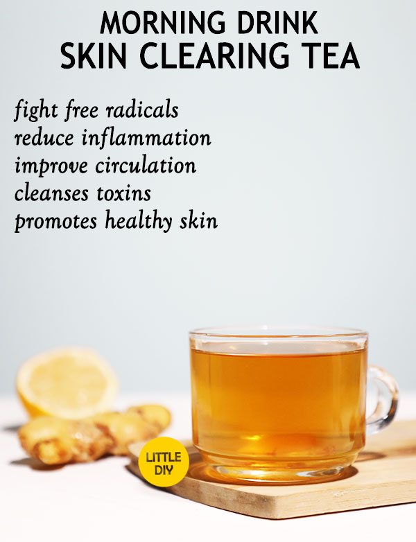 GINGER SKIN CLEARING TEA