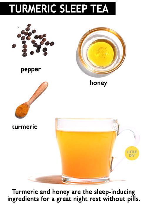 Turmeric tea for sleep -