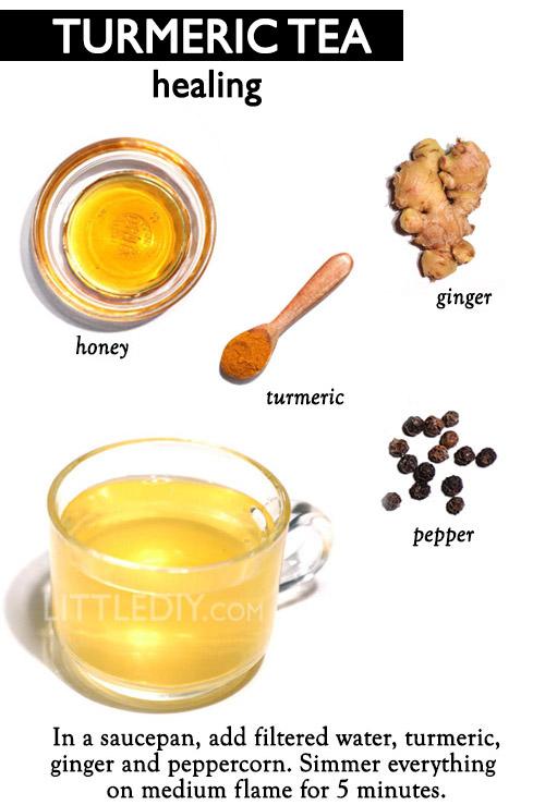 HEALING TURMERIC TEA -