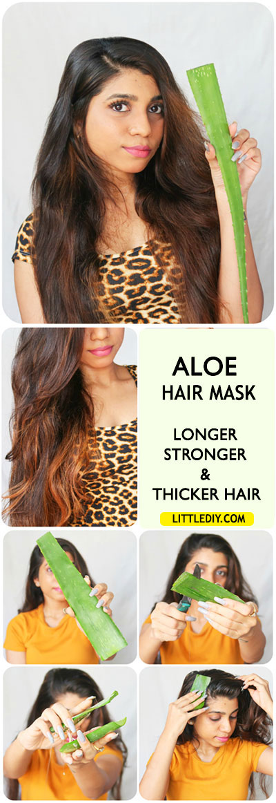 Photo of ALOE HAIR MASK – LONGER, STRONGER AND THICKER HAIR