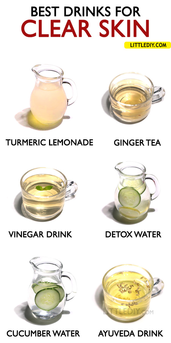 BEST DRINKS FOR CLEAR SKIN
