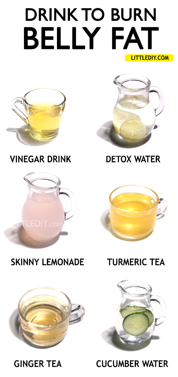 DRINKS TO ELIMINATE BELLY FAT