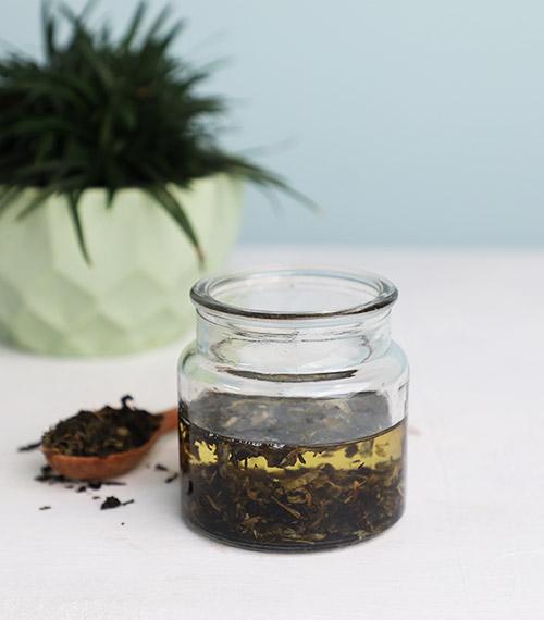 GREEN TEA OIL RECIPE