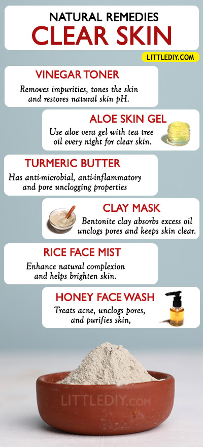 BEST NATURAL REMEDIES FOR CLEAR SKIN