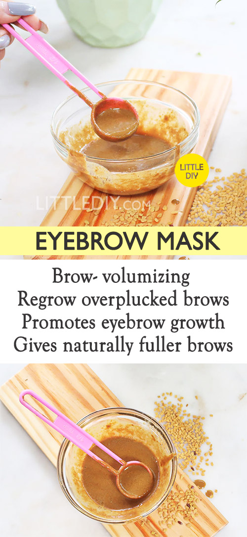 Photo of EYEBROW MASK FOR FASTER EYEBROW GROWTH