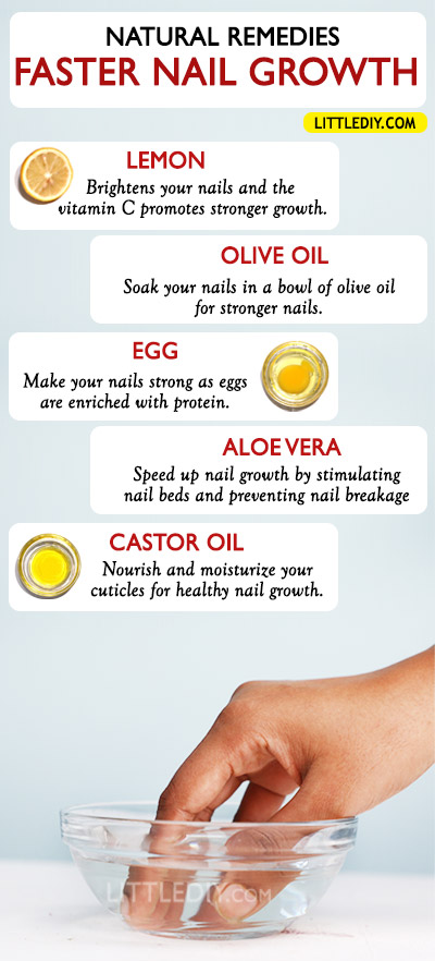 Photo of WAYS TO GROW LONGER STRONGER NAILS