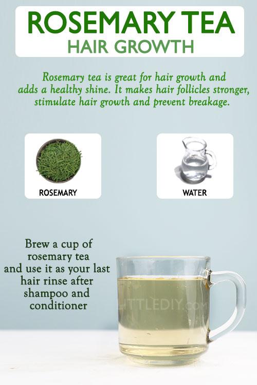 ROSEMARY TEA FOR HAIR GROWTH