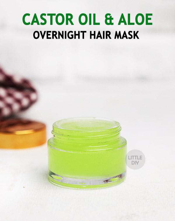 Overnight Aloe & Castor oil Hair Mask