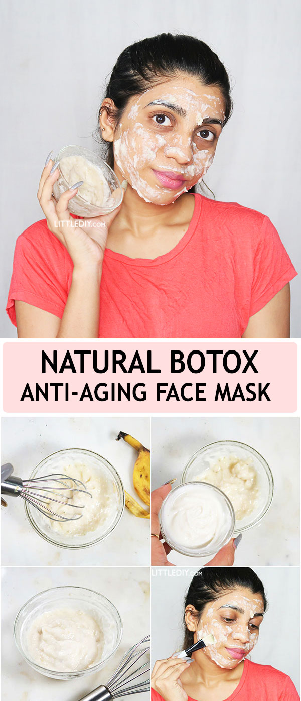 Photo of NATURAL BOTOX – ANTI-AGING FACE MASK