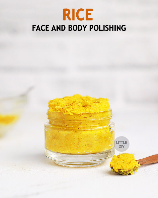 Rice Face and Body Polishing