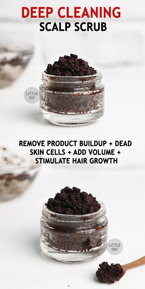 COFFEE HAIR SCRUB: