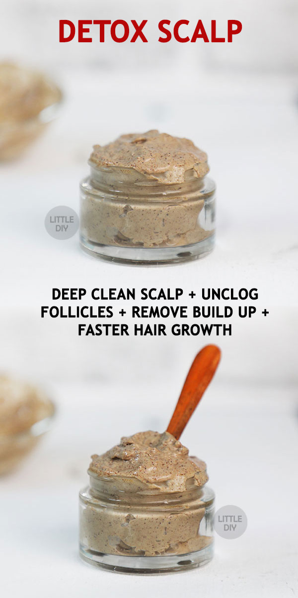 Photo of DETOX SCALP FOR FASTER HAIR GROWTH