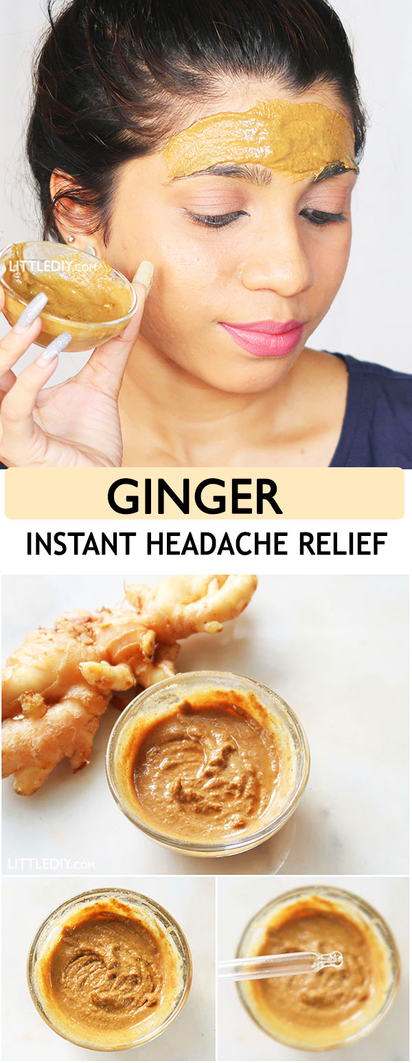 Photo of GINGER – INSTANT HEADACHE RELIEF