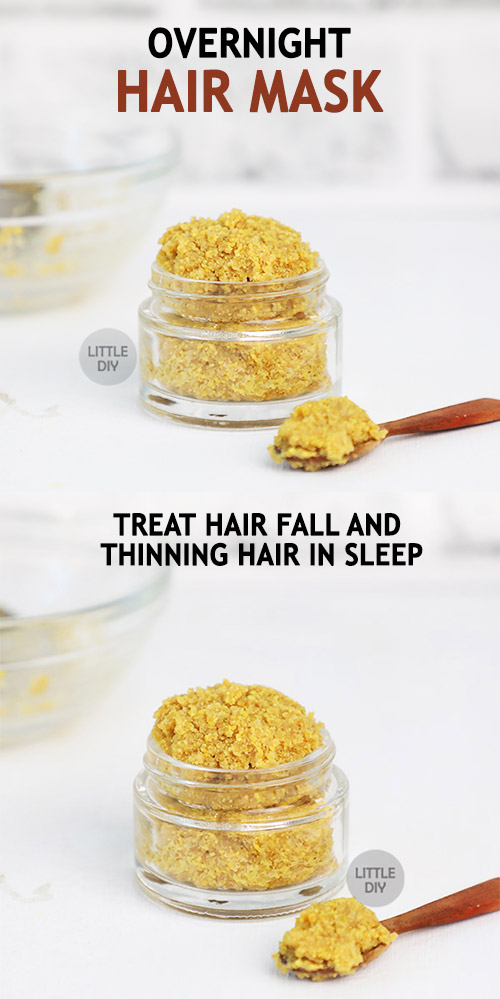 OVERNIGHT HAIR MASK to treat hair fall and thinning hair