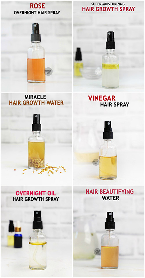 AMAZING DIY HAIR SPRAY