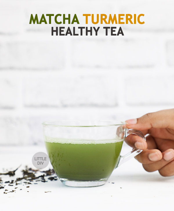 Matcha Turmeric Healthy Tea Recipe