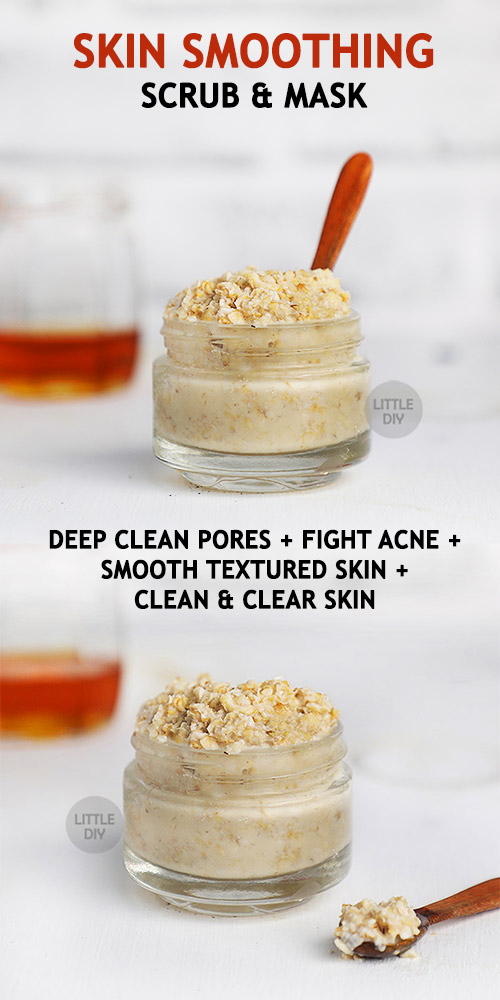 Photo of SKIN SMOOTHING FACE SCRUB & MASK