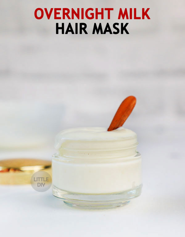 OVERNIGHT MILK HAIR MASK TO STOP HAIR FALL