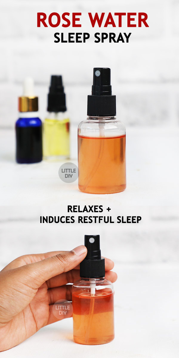 ROSE WATER NATURAL SLEEP SPRAY