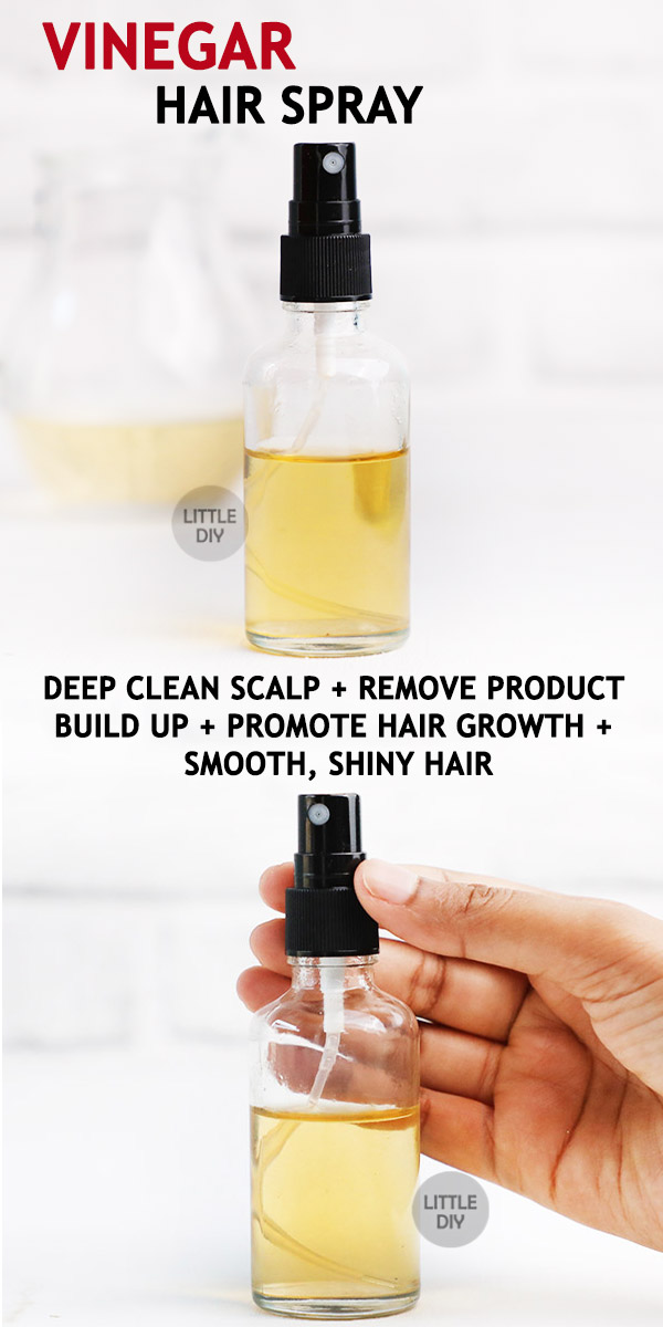 Photo of VINEGAR HAIR SPRAY – get rid of product build up