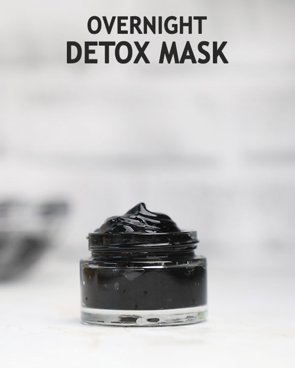 Wakeup to clear skin with overnight mask