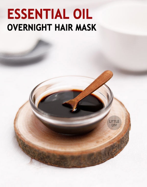 Essential Oil Hair Growth Mask