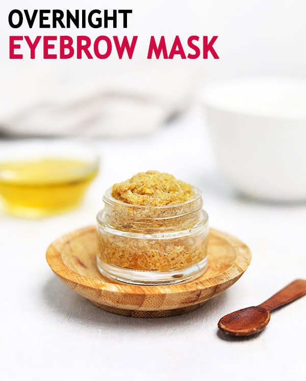 EYEBROW MASK FOR FASTER EYEBROW GROWTH