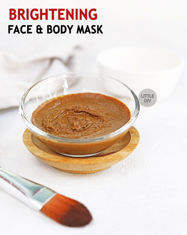 FACE AND BODY BRIGHTENING MASK