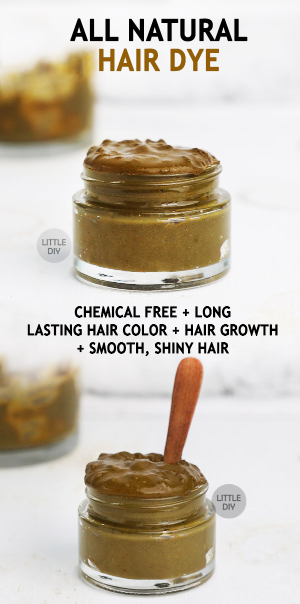 All natural hair dye Recipe