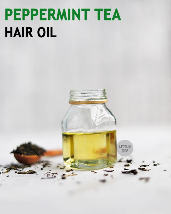 PEPPERMINT TEA OIL FOR HAIR GROWTH