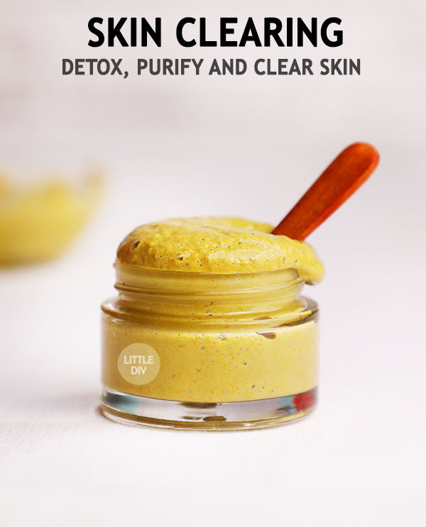 SKIN CLEARING FACE MASK